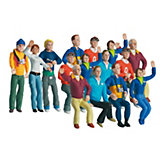 CARRERA 20021107 Set of Figures, Big, 1:32, 15 Figures