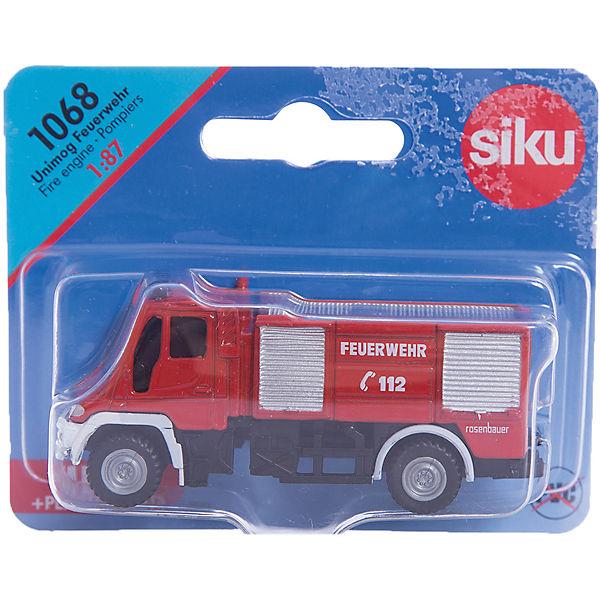 SIKU 1068 Пожарная машина Unimog 1:87
