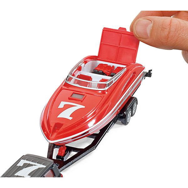 SIKU 2543 Машина с катером