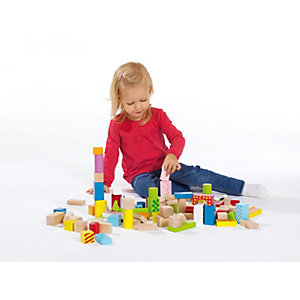 Wooden Building Blocks, Colour
