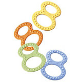 Figure 8 Teething Ring, Pack of Two