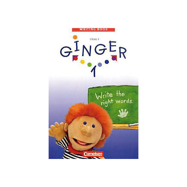 Ginger, Writing Books: Write the right words, 3. Schuljahr Bd.1
