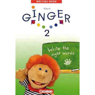 Ginger, Writing Books: Write the right words, 4. Schuljahr Bd.2