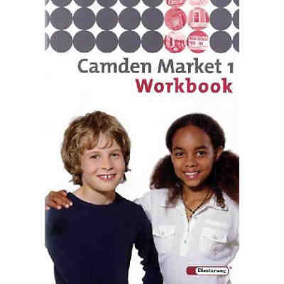 Camden Market, Ausgabe Berlin u. Brandenburg: Klasse 5, Workbook, m. CD-ROM 'Multimedia-Sprachtrainer' u. Audio-CD Bd.1