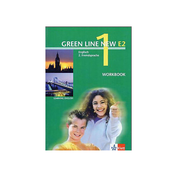 Green Line New (E2): Workbook, 1. Lernjahr Bd..1
