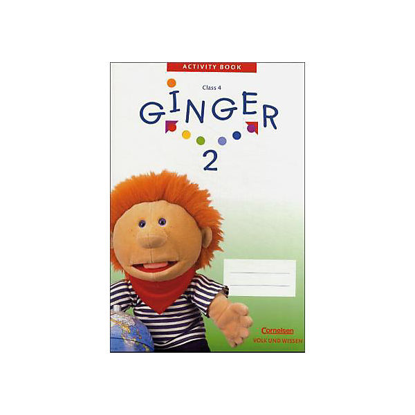 Ginger, Ost-Ausgabe: Activity Book, Class 4, m. CD-ROM (Demoversion) Bd.2