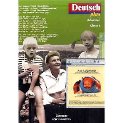 Deutsch plus: Klasse 5, Arbeitsheft