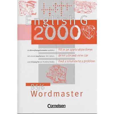 English G 2000, Ausgabe B: Wordmaster Bd.5/6