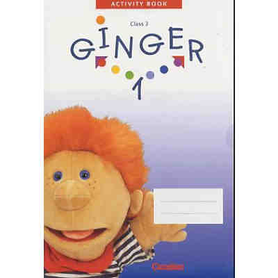 Ginger, West-Ausgabe: Activity Book, Class 3, m. CD-ROM (Demoversion) Bd.1