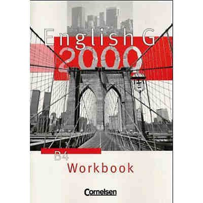 English G 2000, Ausgabe B: Workbook Bd.4