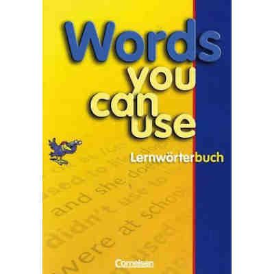 Words You Can Use, Lernwörterbuch