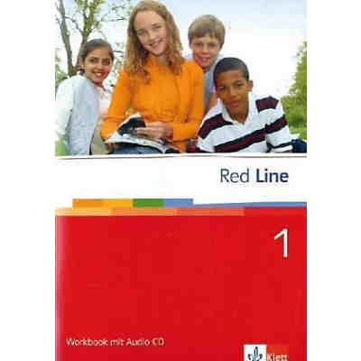 Red Line: Workbook, m. Audio-CD Bd.1