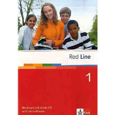 Red Line: Workbook, m. Audio-CD u. CD-ROM Bd.1