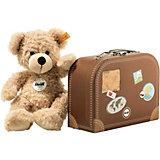 Steiff  Teddybär Fynn 28 cm beige im Koffer