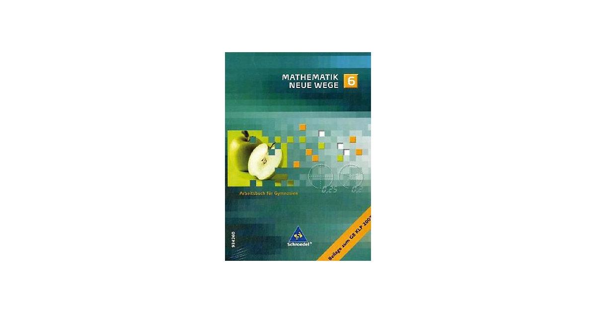 Buch - Mathematik Neue Wege, Ausgabe Nordrhein-Westfalen: 6. Schuljahr