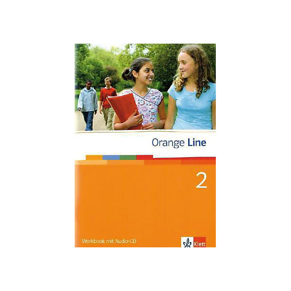 Orange Line: Klasse 6, Workbook m. Audio-CD Bd.2