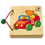 Wooden Picture Book, Vehicles