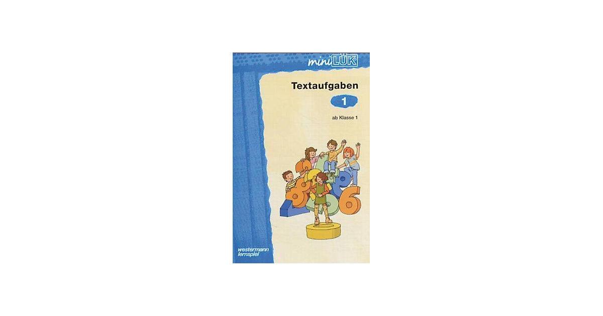 Buch - mini LÜK: Textaufgaben ab Klasse 1, Übungsheft
