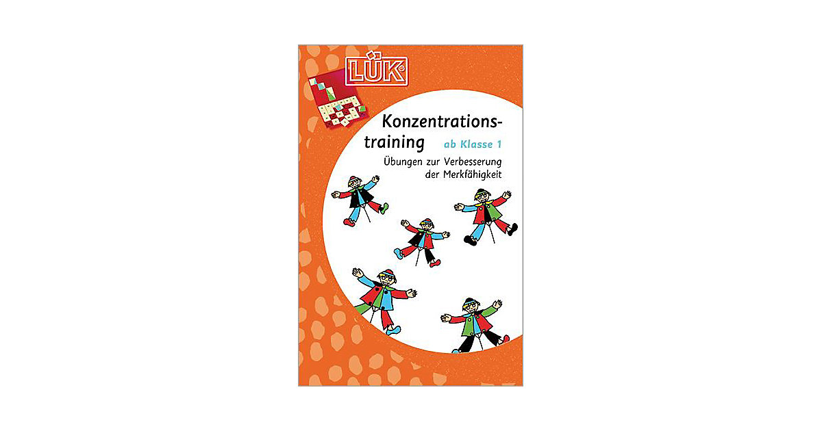 Buch - LÜK: Konzentrationstraining ab Klasse 1, Übungsheft