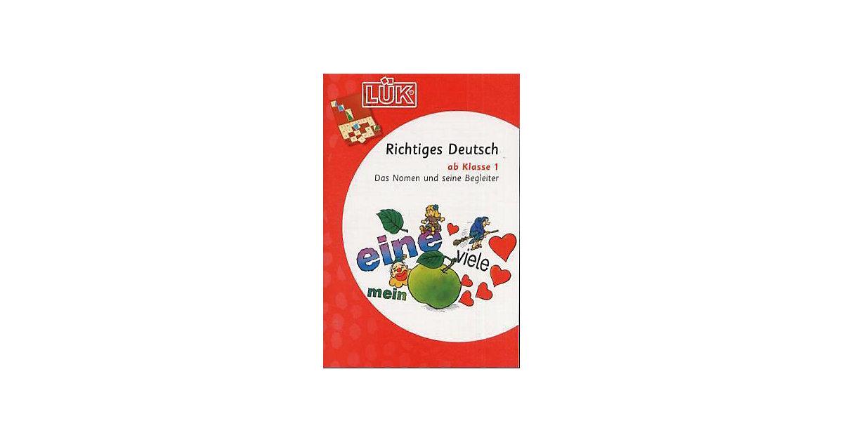 Buch - LÜK: Richtiges Deutsch ab Klasse 1, neue Rechtschreibung, Übungsheft