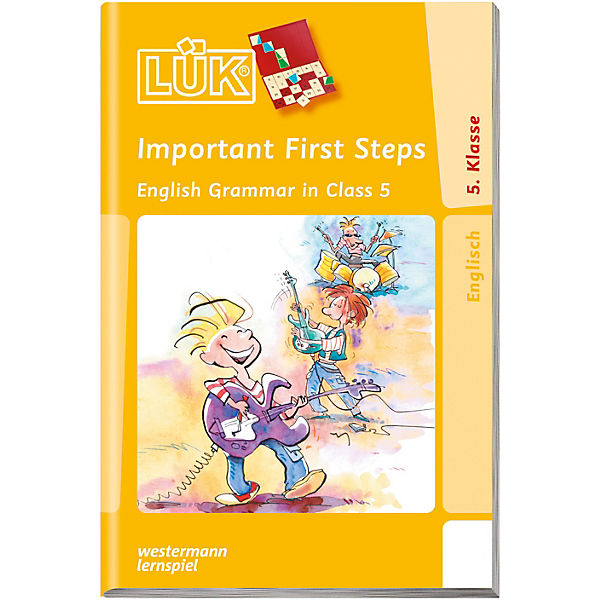 LÜK: Important First Steps, English Grammar in Class 5, Übungsheft