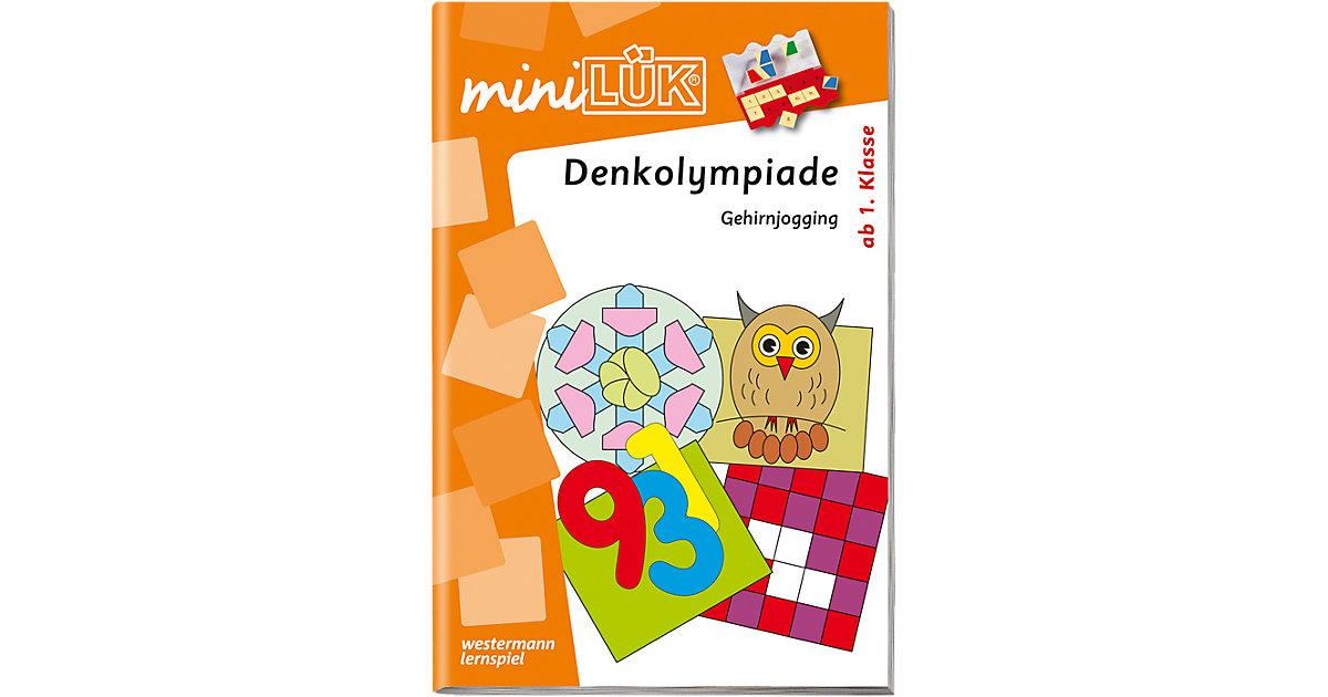 Buch - mini LÜK: Denkolympiade ab 1. Klasse, Übungsheft
