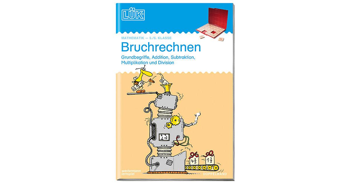 Buch - LÜK, Doppelheft: Bruchrechnen, 5./6. Klasse, EURO