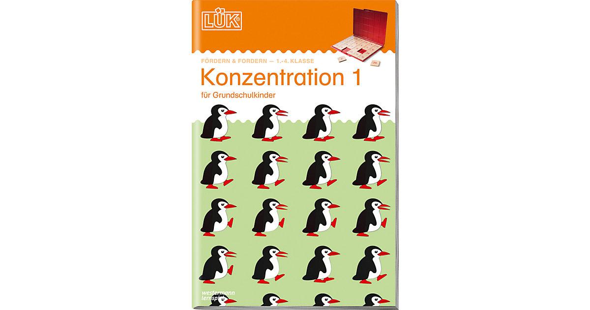 Buch - LÜK: Konzentration 1, Übungsheft