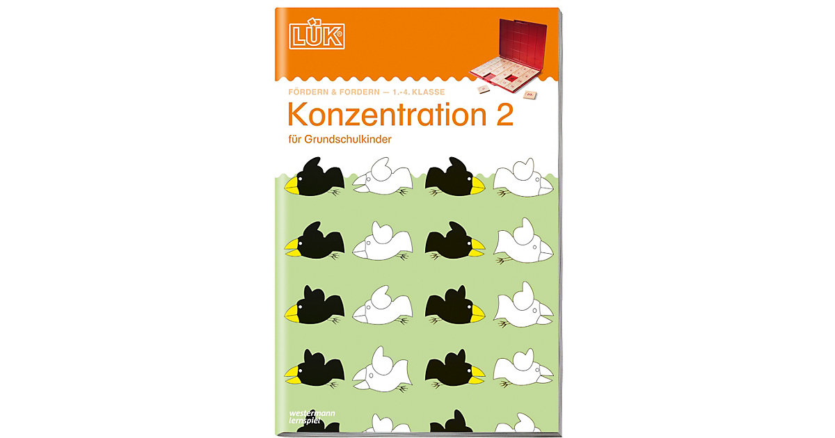 Buch - LÜK: Konzentration 2, Übungsheft