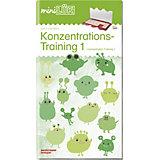 miniLÜK Übungsheft: Konzentrationstraining  1 für Vor- und Grundschulkinder