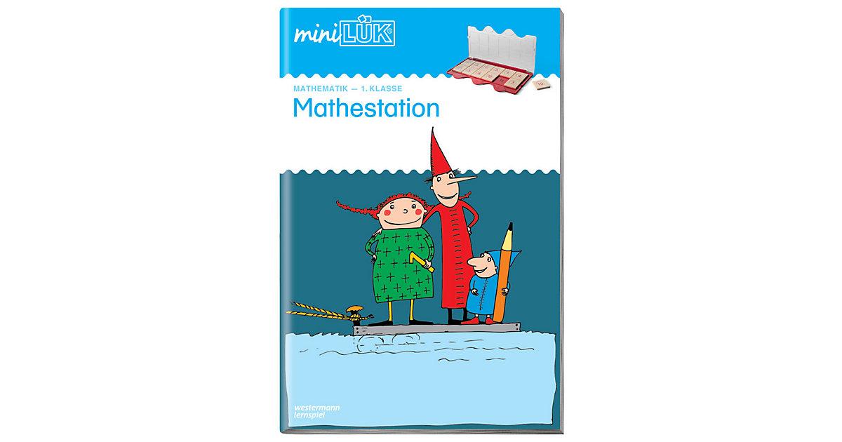 Buch - mini LÜK: Mathestation 1. Klasse, Übungsheft