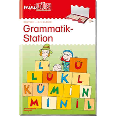 mini LÜK: Grammatik-Station 3./4. Klasse, Übungsheft
