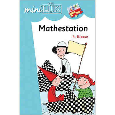 mini LÜK: Mathestation, 4 Klasse, Übungsheft