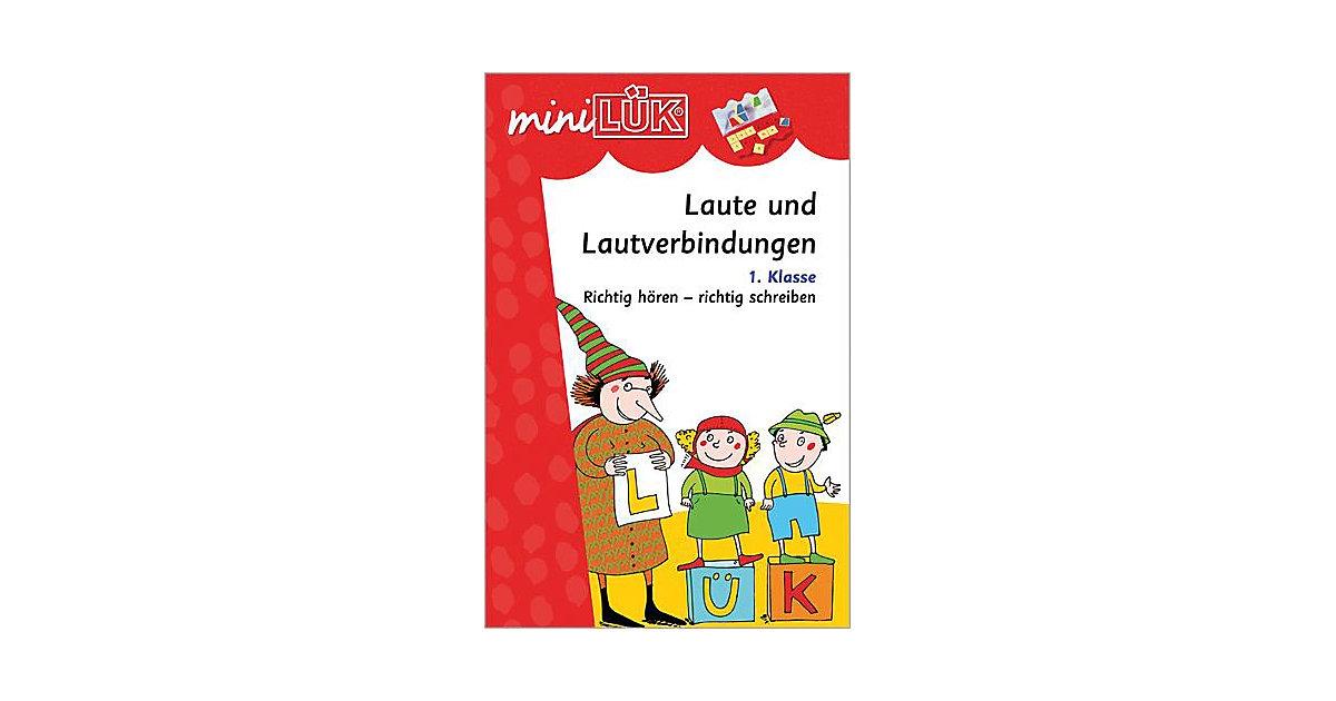 Buch - mini LÜK: Laute und Lautverbindungen, 1. Klasse, Übungsheft
