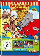 DVD Benjamin Blümchen (Diebstahl im Zoo/ Das weiße Nashorn)