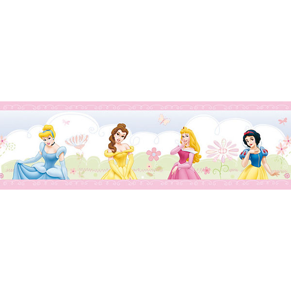 Bordüre Disney Princess Castle, 5 m x 15,9 cm