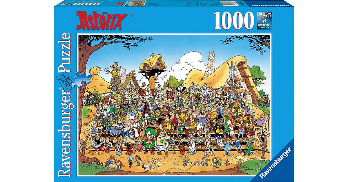 Puzzle-1000 Teile- Asterix, Familienfoto
