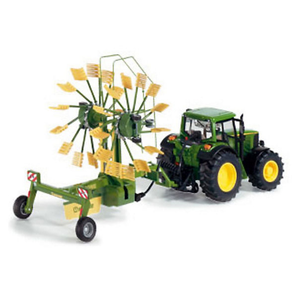 siku 6782 control 32 rc traktor 2 kreisel schwader 1 32. Black Bedroom Furniture Sets. Home Design Ideas