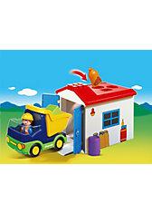 PLAYMOBIL® 6759 1-2-3: LKW mit Sortiergarage
