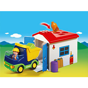 PLAYMOBIL 6759 Truck with Garage