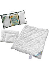Kinder Bettdecke & Kissen Set SoftyFil, Kunstfaser, 100 x 135 + 40 x 60 cm