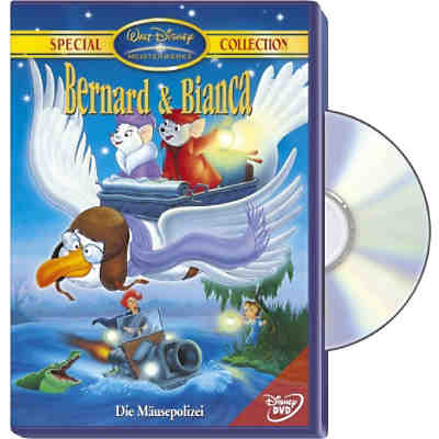 DVD Disneys Bernard und Bianca: Die Mäusepolizei (Special Collection)