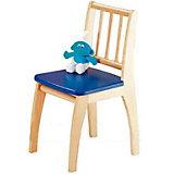 Kinderstuhl Bambino, Buche teilmassiv, blau