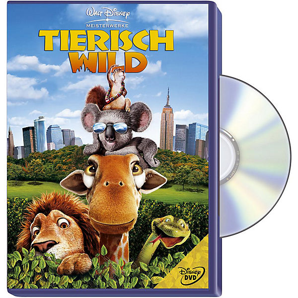 DVD Disneys Tierisch Wild