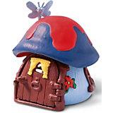 Schleich Smurfs: Smurf Cottage, Small, Blue