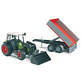 BRUDER 02112 Claas Nectis with Front Loader and Tipping Trailer