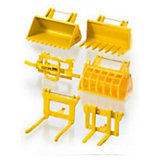 SIKU 7070 Accessory Set for Front Loader, 1:32