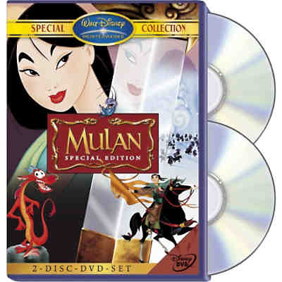 DVD Disneys Mulan (2 DVDs)