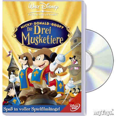 DVD Disneys Die drei Musketiere