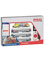 PIKO Spur H0 Start-Set Personenzug Alex mit Diesellok